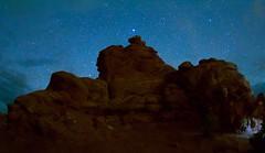 Starry Starry Night (Chamblin1) Tags: nightphotography stars landscape nightsky rockformations
