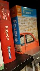 Making plans (elliemcc11) Tags: summer holiday france car typography words tour bokeh books bookshelf depthoffield read planning bookshop waterstones selectivefocus samsunggalaxys6