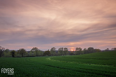 Sweffling Sunset-1042-HDR-1.jpg (Bob Foyers) Tags: sunset sky suffolk woods canon5d feild 1740mml sweffling