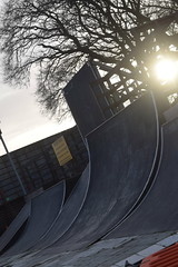 Southsea - Bright Winter'S Day (Olivia Darby) Tags: beach skatepark solent portsmouth southsea