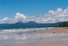 Port Douglas beach (Katie Tarpey) Tags: film beach 35mm kodak australia queensland tropical nikonfm10 portdouglas kodakportra400 nikkor50mm14