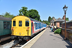 205205 - Ongar (richa20002) Tags: electric diesel railway class multiple preserved epping thumper 205 unit nse demu ongar eor