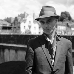moi... je m'appelle le godfather (Patrick Mollema) Tags: france mens godfather mensen cantal straatfotografie