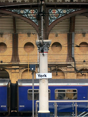 York (the Magnificent Octopus) Tags: york station sign design br rail signage british alphabet