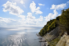 "Glitz_Water... (farsighted.as ""MY PASSIONS"") Tags: ocean sea nature landscape island coast meer baltic insel ufer rgen ostsee kreidefelsen whitecliff"