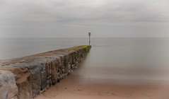 Multi coloured (Collingwood505) Tags: sunlight beach water slow smooth devon coastline silky slowshutterspeed dawlish southdevon 10stopfilter