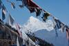 Jomolhari from Chele La Pass (evanvoldenphotography) Tags: mountain la nikon bhutan buddhist prayer flags himalaya himalayan chele jomolhari d810 chelela