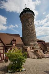 Sinwellturm, Kaiserburg Nrnberg (steffenz) Tags: germany bayern deutschland lenstagged sony 12mm walimex nrnberg 2016 nex samyang steffenzahn nex6 samyang12mm walimex12mm walimexpro12mm120ncscse