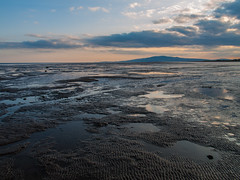 Powfoot (Graham Maxwell) Tags: uk sea sky beach water reflections scotland sand mud shore solway criffel firth dumfriesandgalloway dumfriesshire powfoot
