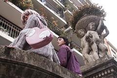 Vapor Girls (DeLestrange) Tags: girls cute fashion photoshoot angeles angels estatuas harajuku kawaii chicas tierno jfashion seapunk vaporwave