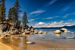 Sand Harbor 1724 (JanisInNV) Tags: trees lake color beach water beautiful clouds nevada scenic tahoe clear pines sandharbor homeplanetimages