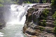 160614 Upper Falls (BY Chu) Tags: newyork genesee geneseeriver upperfalls letchworthsp thegorgetrail