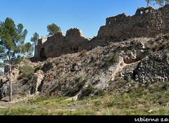 Remains of the castle (Ubierno) Tags: chiva valencia espaa spain europa europe village town pueblo ruinas ruins stone piedra castillo castle ubierno