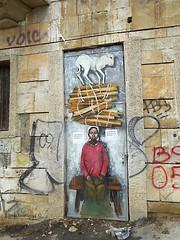 street art Veliko Tarnovo (Elena Scortecci) Tags: street urban woman streetart art graffiti donna strada arte bulgaria tarnovo velikotarnovo veliko