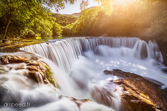 Warmful Atmosphere (dr speed) Tags: nature jaune canon landscape landscapes waterfall ngc nd paysage cascade vis dri languedoc gard sud herault poselongue drspeed 5d3 drspeedfr