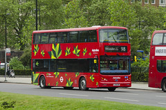 BYD Double Decker (Jethro ~ C.P.C) Tags: china uk red england green london double 98 full decker electirc metroline byd k8sr byd1472 lk16ezn