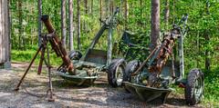 Jyrkänkoski (puittinenmikko) Tags: winter suomi finland war tank mortar soviet ww2 talvi antitank sota talvisota kuhmo