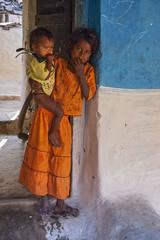 Rural village (wietsej) Tags: baby india rural village child with minolta 7d 1750 dynax tamron chhattisgarh kawardha
