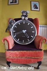 82. Illustrate a nursery rhyne ( MissChief Photography ) Tags: clock mouse nurseryrhyme 116picturesin2016 armchair