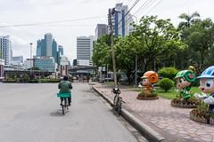 Bangkok, Thailand (Quench Your Eyes) Tags: park travel thailand asia southeastasia cyclist bangkok thai citycenter biketour lumpinipark lumpiniparkwitthayuroadbangkok