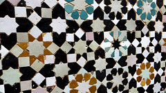 Zellij Tile 05 (macloo) Tags: geometric architecture tile morocco meknes zellij