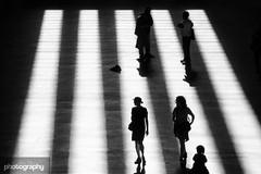 Shadows... (Alex Chilli) Tags: light shadow people silhouette modern women fuji shine tate streetphotography xa2 rays xmount