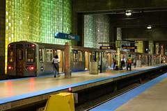 O'Hare Station (photodiaryobscura) Tags: illinois chicago blueline thel trainstation ohareinternationalairport oharestation subway train cta