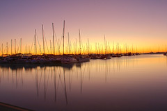 Manly Boat Harbour (corymbia) Tags: manlyboatharbour dawn yacht harbour sky light reflection
