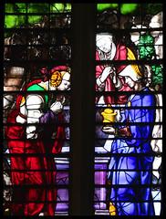 Three Marys at the Empty Tomb (English, 16th Century) (Simon_K) Tags: cambridge college church university king churches chapel stainedglass tudor kings cambridgeshire eastanglia 16thcentury cambs kingss