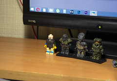 Being inspired... (talanter_man) Tags: lego custom witcher geralt