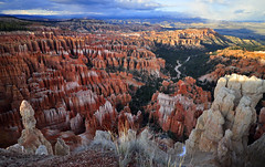 Inspiration Point, Bryce Canyon at sunset (johnredney) Tags: park red inspiration rock spectacular point landscape utah amazing outdoor canyon formation national bryce geology brycecanyon geological brycecanyonnationalpark