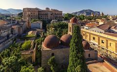 The sky over Palermo (Fil.ippo) Tags: palermo sicily sicilia cityscape panorama sangiovannideglieremiti d7000 filippo filippobianchi sigma1020 sangiuseppecafasso palazzodeinormanni cattedraledipalermo