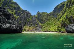 Emerald Waters (engrjpleo) Tags: travel sea seascape beach water rock landscape island coast seaside outdoor philippines shore elnido palawan waterscape miniloc secretlagoon bacuitbay