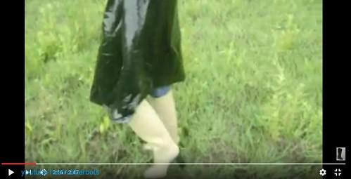 rubber boots pvc rainwear