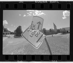 LOA   DO (New Paltz Camera Company) Tags: new york white ny black film monochrome sign yellow analog 35mm dock nikon kodak scanner trix bob malta filter developer 400 epson analogue v600 expired esposito fm2 loading xtol