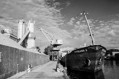 Saturday evening (Niquitin) Tags: industry netherlands factory ship nederland schip binnenvaart niquitin ouderijn dickbruinsma