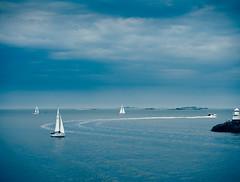 Vallisaari (miemo) Tags: sea summer sky seascape storm clouds finland boats island helsinki europe horizon olympus balticsea sailboats omd vallisaari olympus1240mmf28 em5mkii