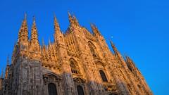 DSC07797 (eliazar.dominantez) Tags: italy milan square evening concert twilight italia cathedral milano piazza duomo lombardia lombardy