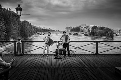 Pont des Arts (!vanM) Tags: paris pontdesarts tokina1120
