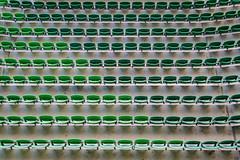 Allianz Parque (rogeriobromfman) Tags: brazil verde green brasil football chairs stadium sopaulo soccer palmeiras repetition cadeiras estdio futebol stalls repetio arquibancadas palestraitlia parqueantrtica allianzparque
