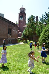 Kids Playing On The Church Lawn On The Last Day Of School (Joe Shlabotnik) Tags: irene 2016 afsdxvrzoomnikkor18105mmf3556ged june2016