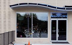 Motor Scooters (micro.burst) Tags: atlanta urban georgia storefronts lightroom pentaxk3