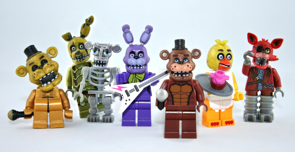 lego fnaf how to build