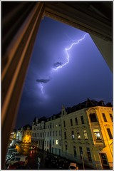 Hiding from the power (andererName) Tags: storm night power nacht fenster thunderstorm blitz gewitter walimex huser sturm 10mm weitwinkel