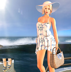 ~130~ Come Sail Away (Ana ~ Fashion Graffiti Blog) Tags: fashion monalisa secondlife ikon tableauvivant cae maitreya prettyplease lelutka collabor88 7deadlys{k}ins {zoz} kinkyevent thesensesposeshop lrstudios