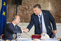 EPP Summit, Brussels, June 2016 (More pictures and videos: connect@epp.eu) Tags: brussels party people june viktor prime european president donald council epp minister orban tusk 2016