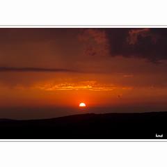 Tonight's dramatic sunset over the Swabian Alps (horstmall) Tags: sunset red summer storm rot colors clouds rouge sonnenuntergang couleurs sommer wolken heat thunderstorm été gewitter farben chaleur schwäbischealb hitze swabianalps couchesoleil nouages donnstetten aufdemberg jurasouabe horstmall uffamberg