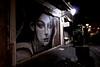Night Street Ioannina (Ephemeral Movies) Tags: street woman lamp night grafiti drawing ioannina ιωαννινα ιωάννινα γιαννενα