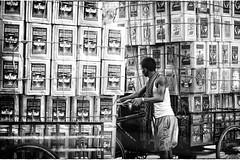 Kolkata (daniele romagnoli - Tanks for 12 million views) Tags: road street portrait blackandwhite bw india monochrome monocromo nikon asia strada indie kolkata ritratto indien bianconero calcutta biancoenero indiano inde citt  indiani calcuta   d810   romagnolidaniele