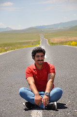 I'm on the road (mehmetyukselphotography) Tags: road sky clouds trip travel world life art style food red colorful amazing nature landscape portrait portre trkiye erzurum turkey awesome face hair summer spring green yellow model beauty beatiful